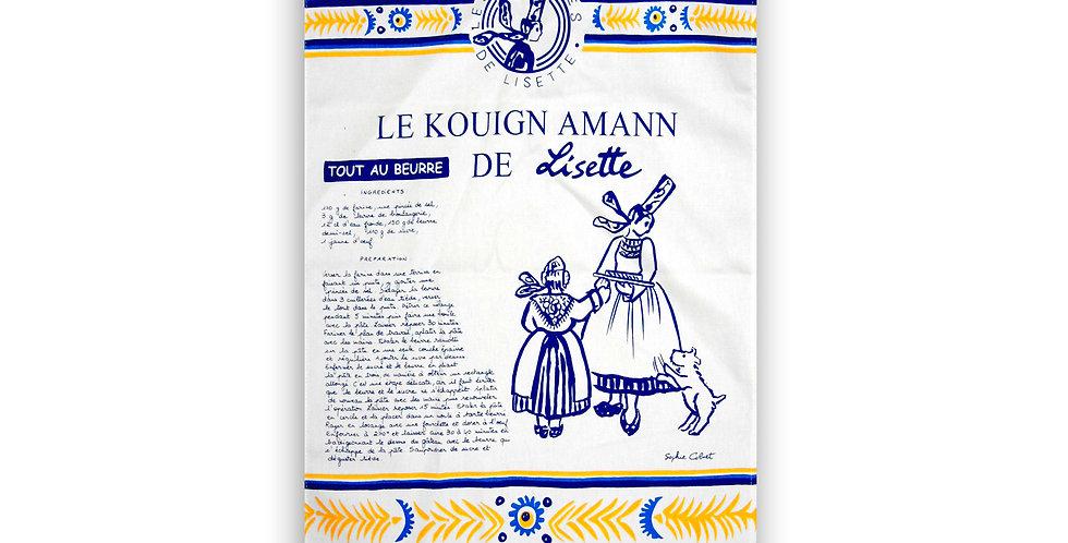 Torchon Lisette Kouign amann