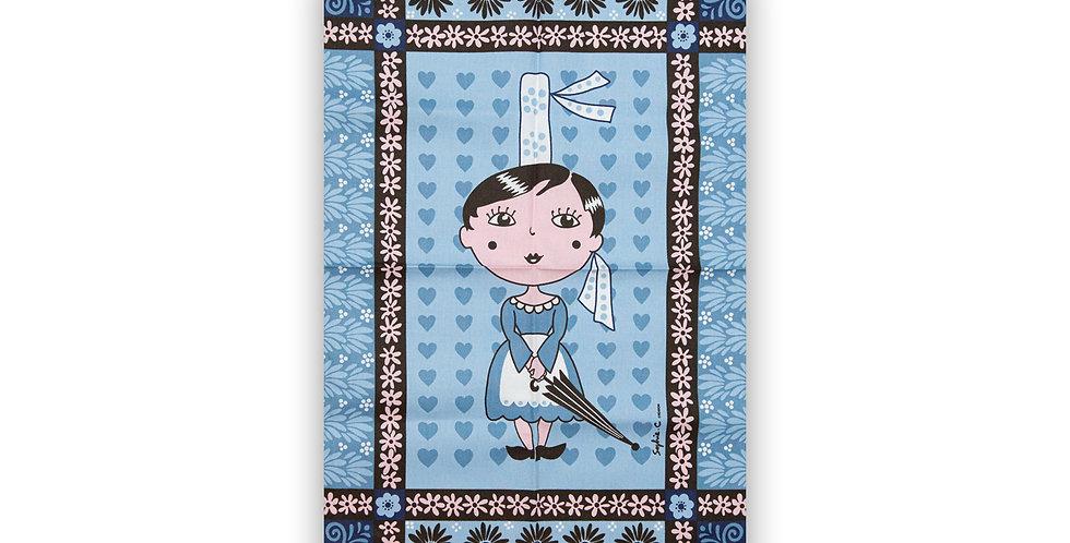 Torchon Bleu Miss pébroc