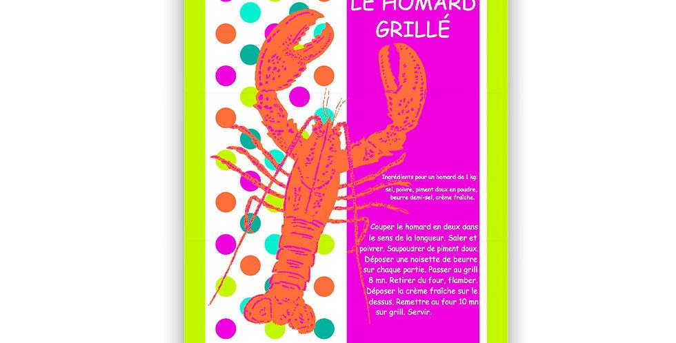 Torchon Multico le homard
