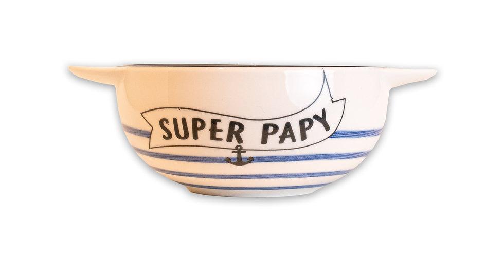 """Bol à oreilles """"Super papy"""""""