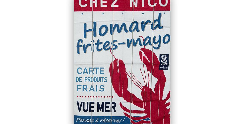 Torchon Resto Nico Homard