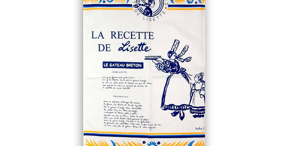 Torchon Lisette le gâteau breton