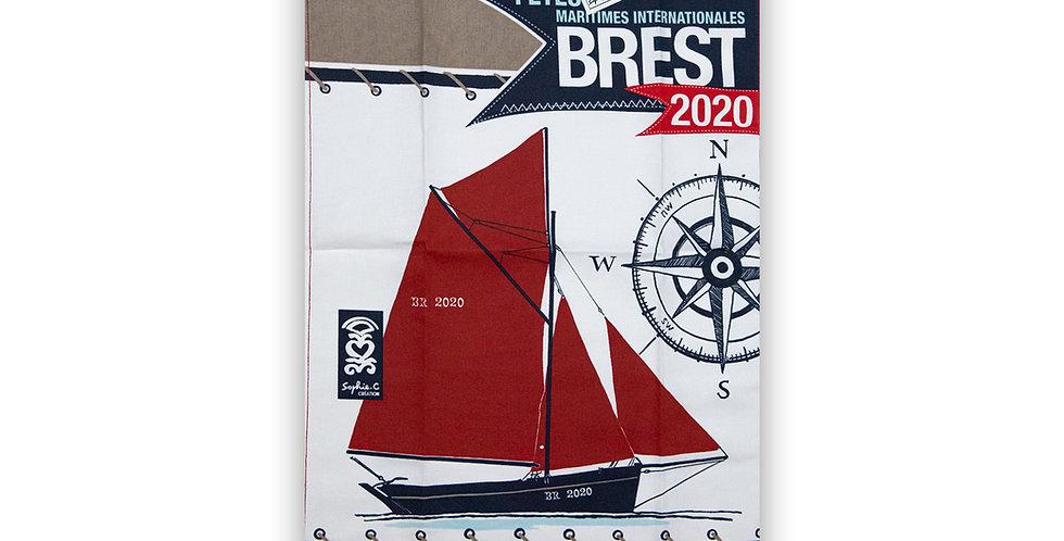 Torchon Brest 2020 Boussole