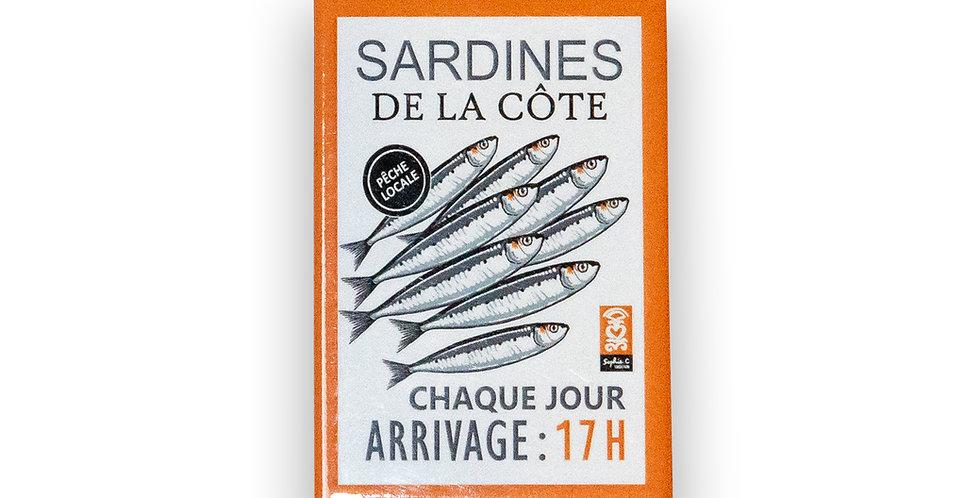 Magnet Sardines de la côte
