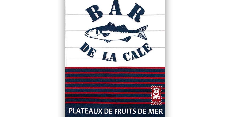 Torchon Rayure bar
