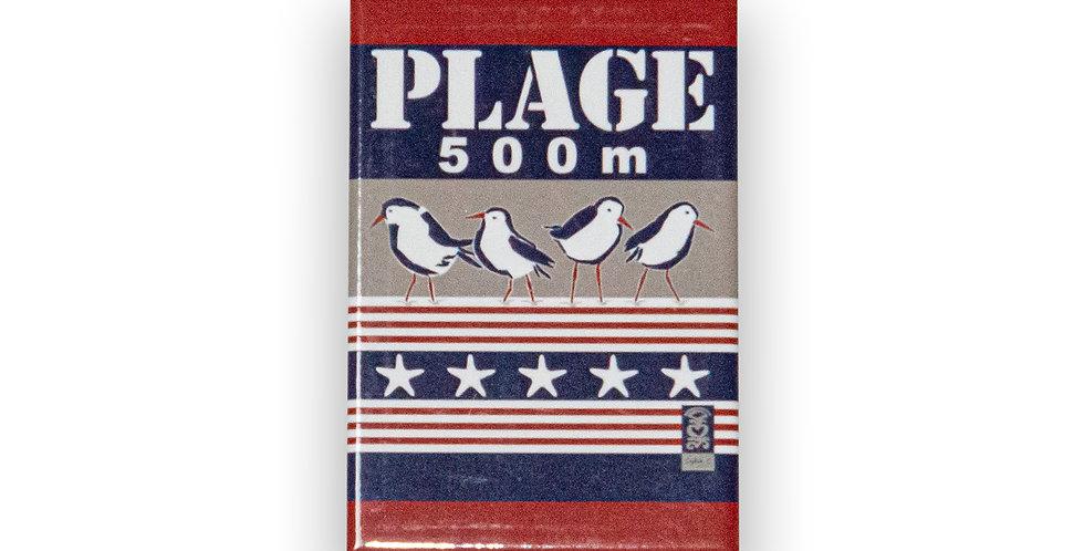 Magnet Régate Plage 500m