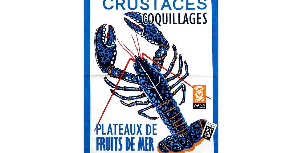 Torchon Plateaux de fruits de mer
