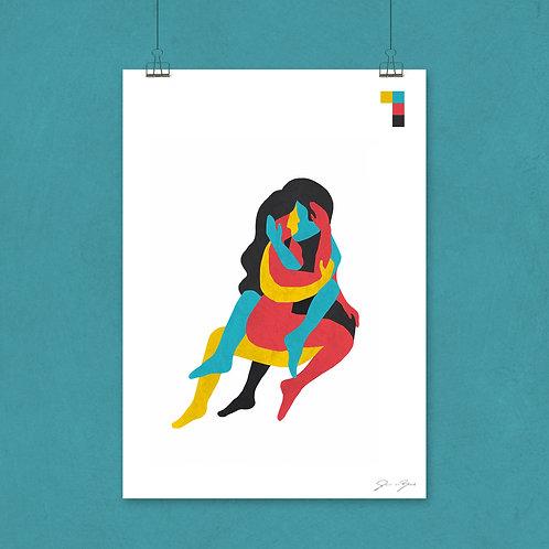 A2  print, mat papier