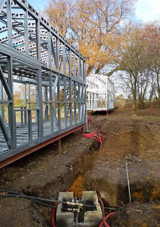 Construction des Tiny Lodges - 2020