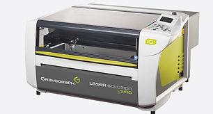 Gravograph LS100 laser