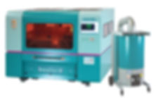 BFL1390 fibre laser with extraction unit