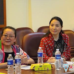 20180328深圳市石岩公学教育拜访团莅临访问