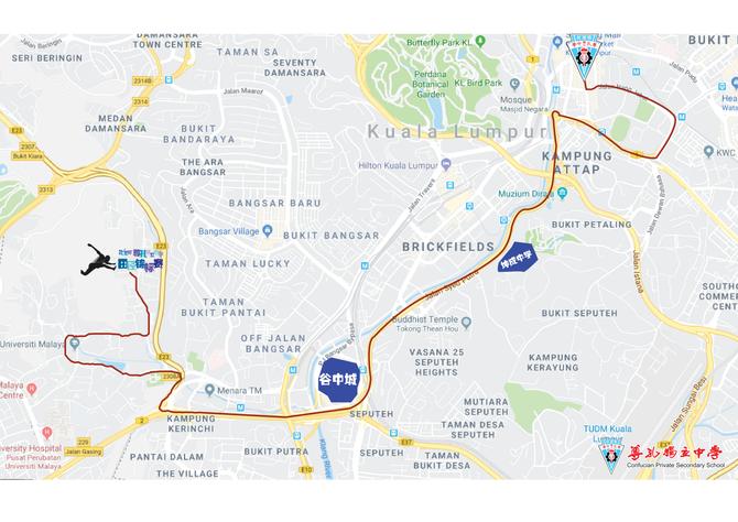2018年田径锦标赛路线图