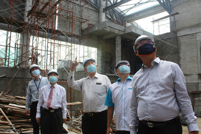 尊孔独中综合教学大楼明年6月竣工