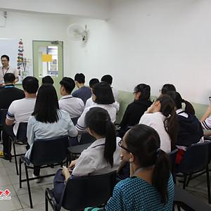 20180329 香港劳工子弟中学学习与交流