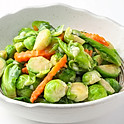504 Stir-fried Thai Brussels Sprouts