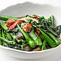 505 Stir-fried Chinese Kale with Salted Fish