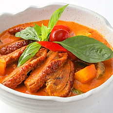 352 Red Curry (Roasted Duck ,Mix Vegetable)