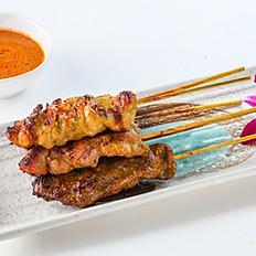 230 Grilled Satay Skewers(Pork, Chicken, Beef)