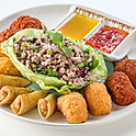 200 Appetizer Platter(Prawn Cake, Fish Cake, Spring Rolls, Minced Pork Salad)
