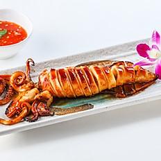 235 Grilled Jumbo Squid