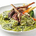 407 Grill Lamb Chop w/ Green Curry