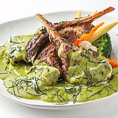 407 Grill Lamb Chop w/ Green Curry