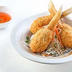 206 Vietnamese Barbecued Shrimp Paste on Sugar Cane