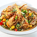 208 Stir-Fried Soft-Shell Crab with Garlic And Pepper