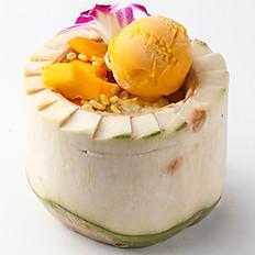 607 Mango with Tender Sticky Rice & Ice Cream