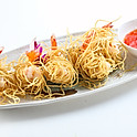 209 Deep-Fried Prawn Wads with Egg Noodle