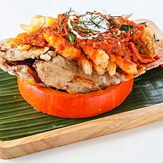 461 Panang Curry Fish with Pumpkin