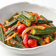 508 Stir-fried Okra w/ Sambal