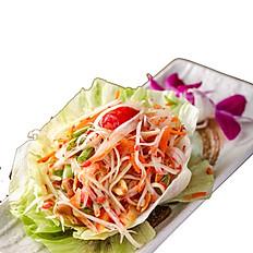 251 Spicy Green Papaya Salad
