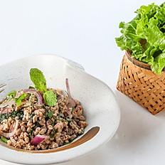260 Minced Pork (Chicken) Spicy Salad with Thai Herb