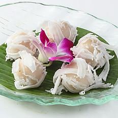 608 Taro Glutinous Rice Dumplimg with Shredded Coconut