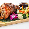 409 Grilled Pork Knuckle with Thai Style