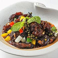 404 Stir-fried Beef Shank with Fresh Pepper Corn