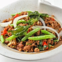 403 Stir-Fried Minced Pork w/ Chili and Hot Basil