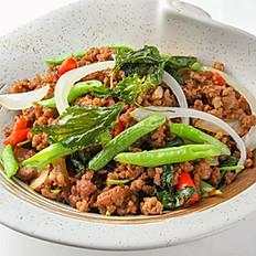 403 Stir-Fried Minced Pork w/ Chili and Hot Basil