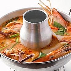 301 Tom Yum Soup with Young Coconut