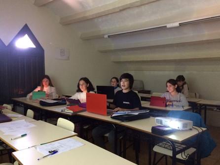 Presentation of Projects November