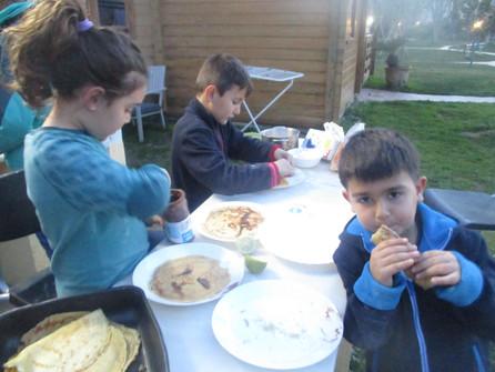 School pancake day