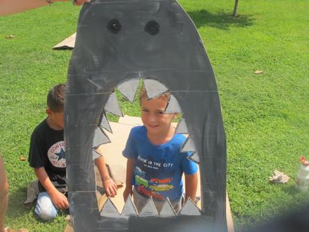 Shark Photo booth