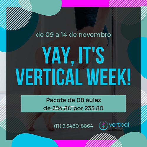 Vertical Week 8 aulas