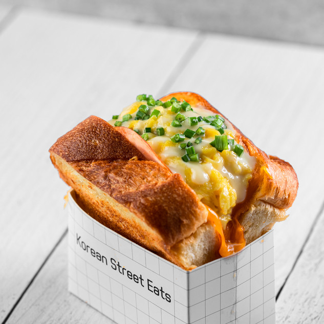 Ham, Egg, Cheese Eggie Toast