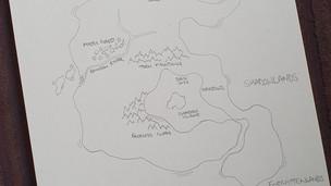 Author Sketch - Mielikuvitus Rough Map