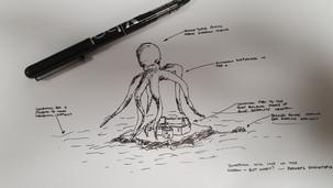 Author Sketch v2 - The Shocktopus