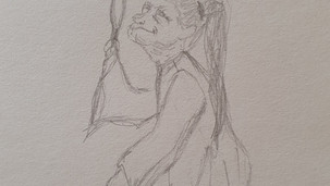Author Sketch - Sucatraps supporting character