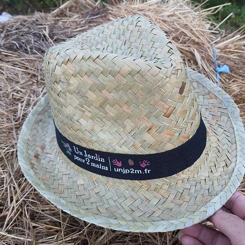 """Chapeau Festival paille """"unjardinpour2mains"""""""